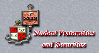 Student Fraternities and Sororities